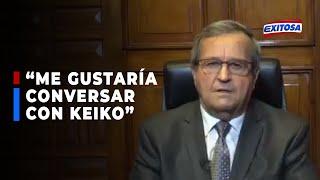 """????????Alcalde Molina: """"Me gustaría también conversar con Keiko Fujimori"""""""