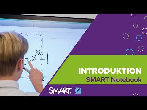 Film 1: Starta SMART Notebook, skriva, flytta, sudda och spara