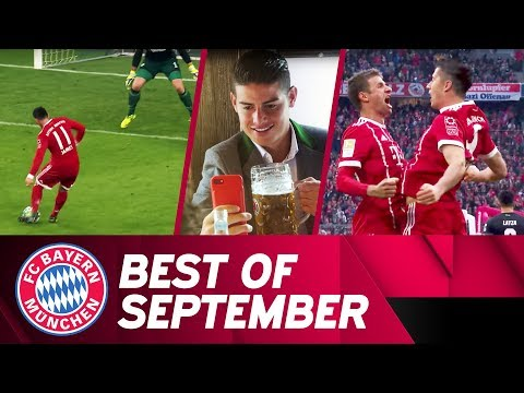 Schalke-Win, Training-Skills & Oktoberfest | Best of September | FC Bayern