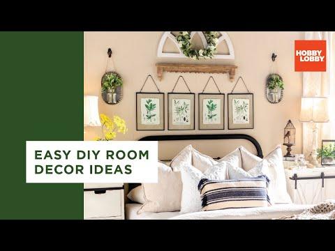 Easy DIY Room Decor Ideas – Bohemian & Farmhouse | Hobby Lobby®