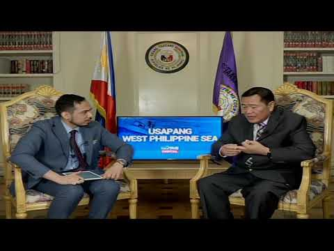 Usapang West Philippine Sea kasama si Supreme Court Associate Justice Antonio Carpio