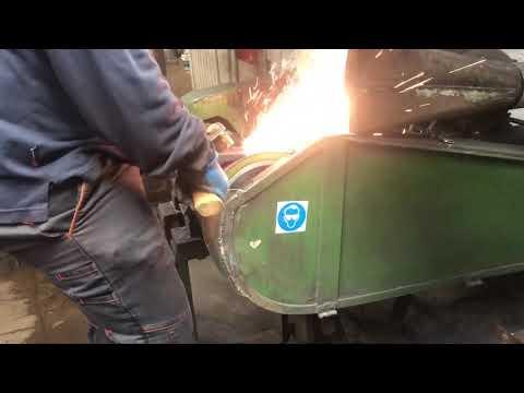 Axe Forging at Wetterlings Axe Factory Sweden