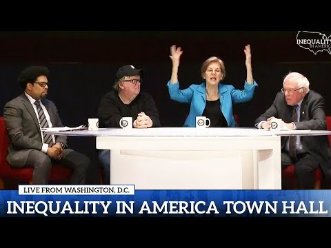 Bernie's Inequality in America National Town Hall - TYT Summary