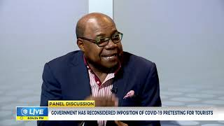 Jamaica: Testing Protocols Associated With Reopening Tourism | Panel Discussion | CVMTV