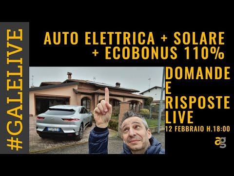 AUTO ELETTRICA, FOTOVOLTAICO, ECOBONUS 1 …