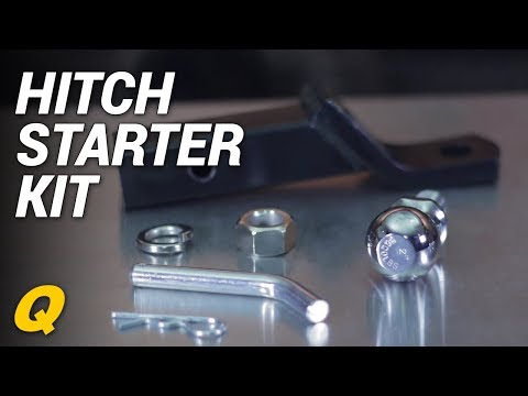 Quadratec Hitch Starter Kit for Jeep Vehicles