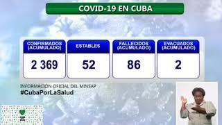Conferencia de Prensa: Cuba frente a la COVID-19 (4 de julio de 2020)