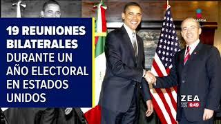 Otros encuentros entre presidentes de México y Estados Unidos | Noticias con Francisco Zea
