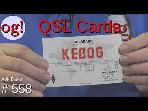 QSL Cards? (#558)