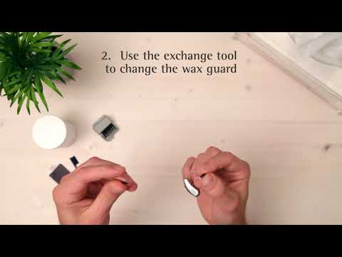 How to clean a Receiver in the Canal (RIC) hearing aid (with voice over)