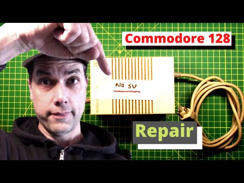 Repairing a Commodore 128 Power Supply