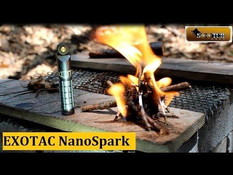 EXOTAC NanoSpark Fire Starter