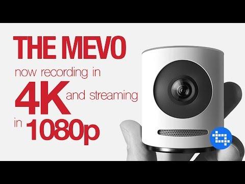Mevo now records at 4K and live streams at 1080p