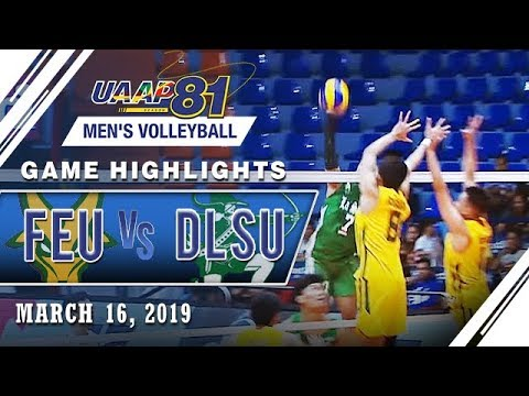 UAAP 81 MV: FEU vs. DLSU | Game Highlights | March 16, 2019
