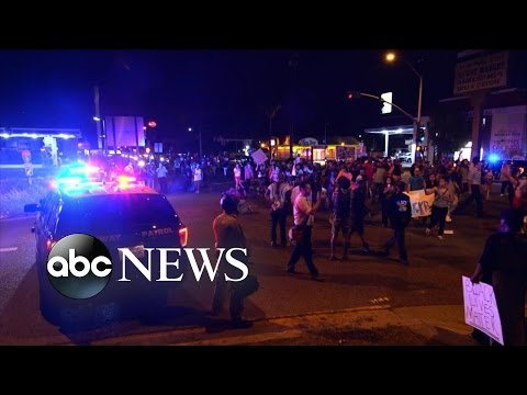 California Police Shooting | Protesters Flood Streets
