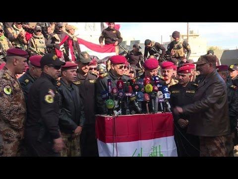 القوات العراقية تعلن استعادة القسم الشرقي من مدينة الموصل