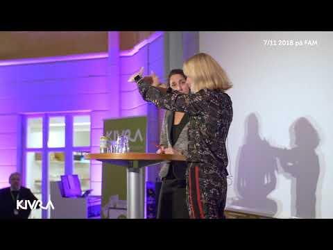 Sara Öhrvall på Kivras digitaliseringsmöte 2018