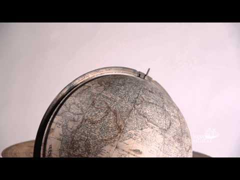 Glober som visar framtiden