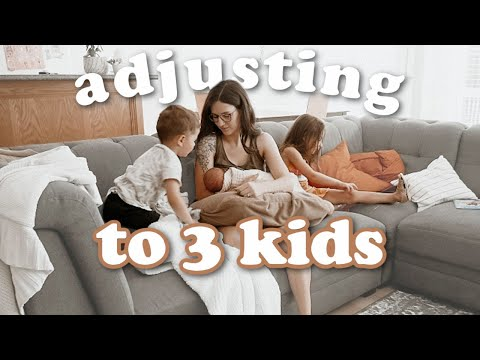 How We're Adjusting! GOING FROM 2-3 KIDS!