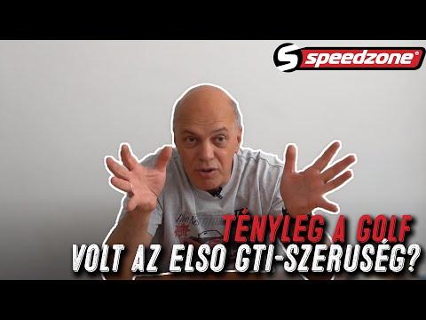Speedzone vasárnapi Csik: Tényleg a Golf volt az első GTI-szerűség?