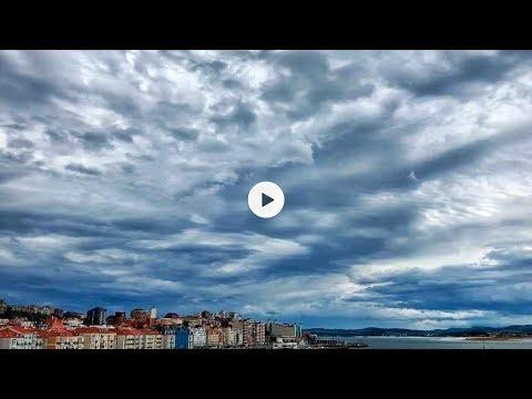 La belleza de Santander en una tarde de sur... la de ayer