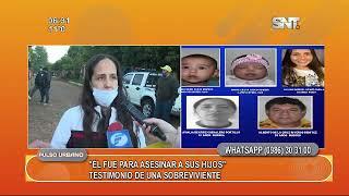 Policía mató a sus hijos, suegros y cuñada.