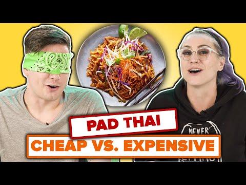 We Guess Cheap Vs. Expensive Pad Thai