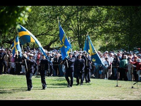 Svenska hjältar hyllas på Veterandagen