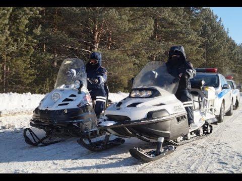 В Томской области сотрудники полиции провели профилактическое мероприятие «Снегоход»