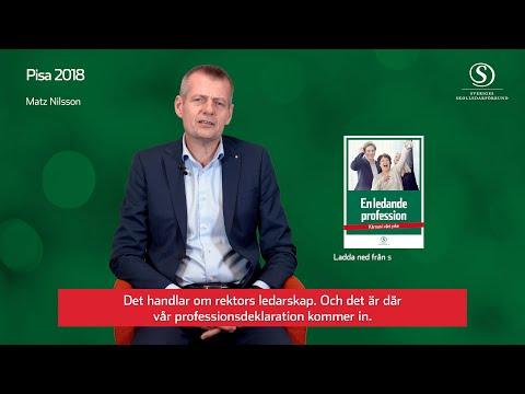 Pisa 2018 - Matz Nilsson kommenterar