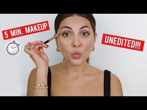 Running Late 5 Minute Makeup No Foundation, No Edits