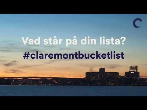 #claremontbucketlist