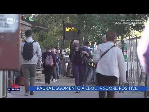 Convento contagiato - La Vita in Diretta 27/11/2020