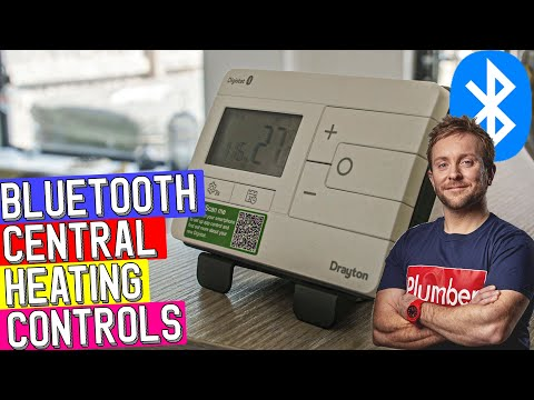 BLUETOOTH HEATING CONTROLS UPGRADE - Drayton Digistat Install