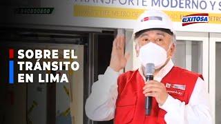 """????????MTC: """"Ordenar el tránsito en Lima es algo que siempre se ha considerado imposible"""""""