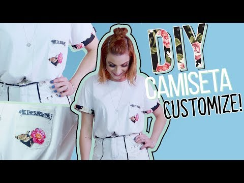 DIY Transforme T-Shirt Básica #02