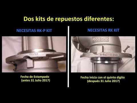 Cómo pedir un kit de repuesto de un válvula de emergencia neumatica MaxAir™
