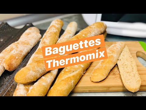 BAGUETTES CASERAS Y FACILES THERMOMIX