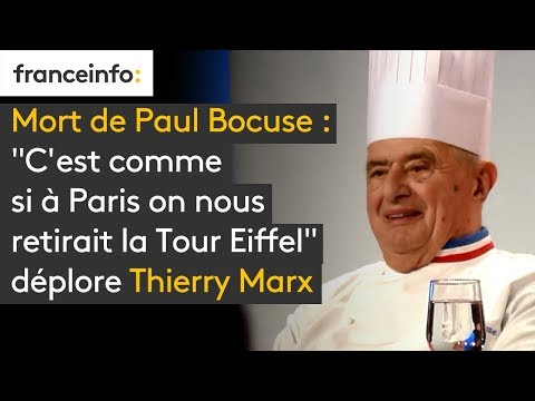 Mort de Paul Bocuse :