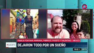 Familia rodante recorre Latinoamérica