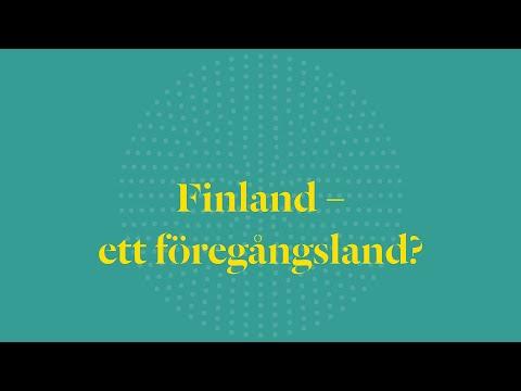Finland - ett föregångsland?
