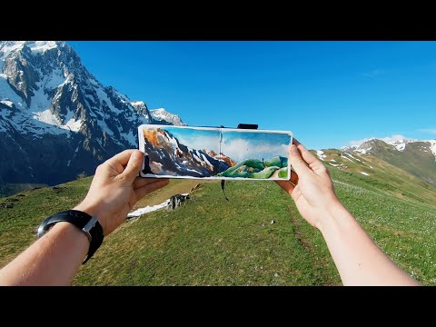 GoPro Awards: Sketching the French Alps