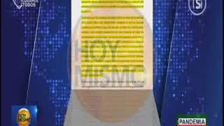 Hoy Mismo Estelar - Informe Secretaría de Salud sobre compra de hospitales móviles