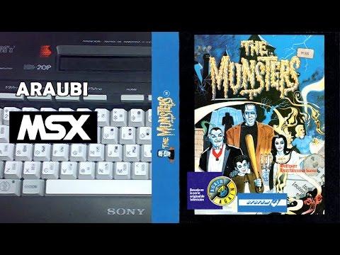 The Munsters (Gremlin, 1988) MSX [199] Walkthrough