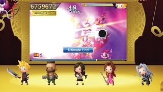 Theatrhythm Final Fantasy Curtain Call - FFVII Musical Legacy Trailer