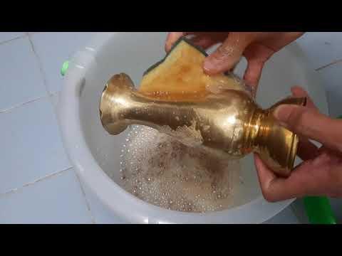 ทดลองสูตรขัดทองเหลือง