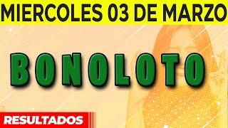 Resultados sorteo Bonoloto del Miércoles 3 de Marzo del 2021