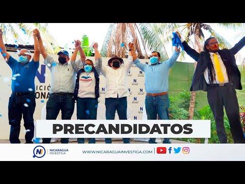 #EnVivo Coalición Nacional presenta a sus precandidatos.