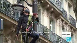 Luchando contra la emergencia climática: los nuevos eco-rebeldes de Francia