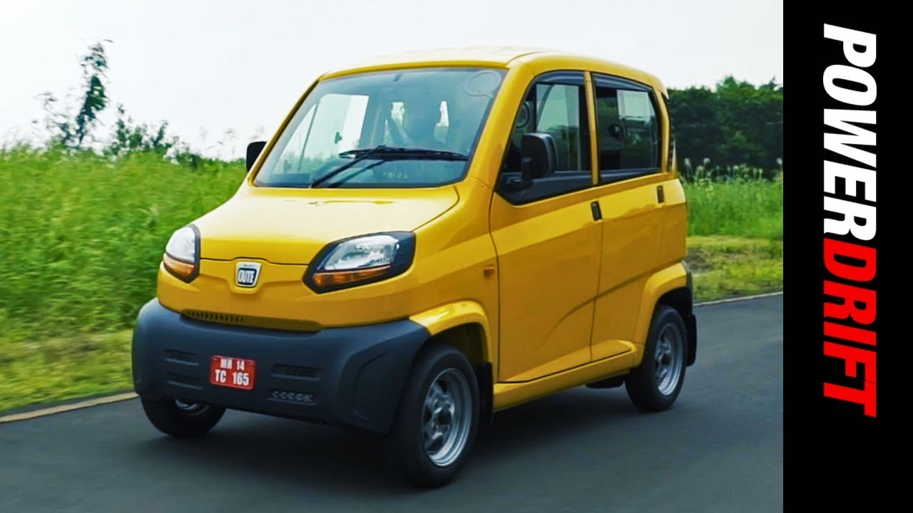 Bajaj Qute : Rickshaw of the Future? : PowerDrift